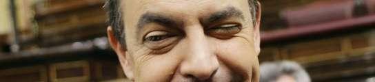 Zapatero guiñando un ojo