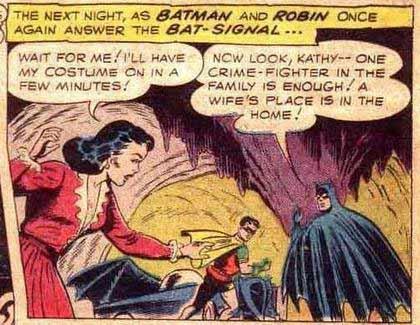 Viñeta de Batman