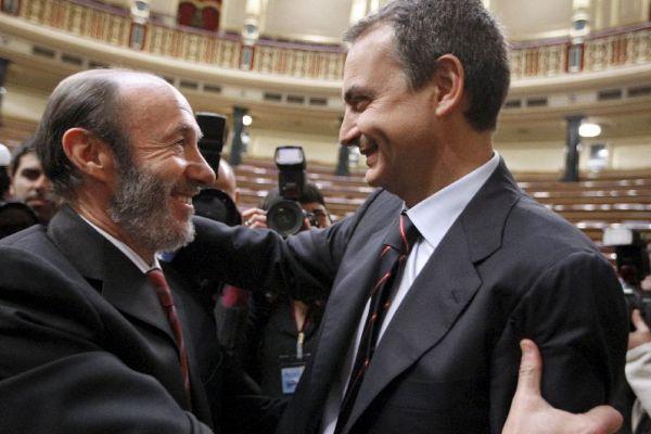Rubalcaba felicita a Zapatero