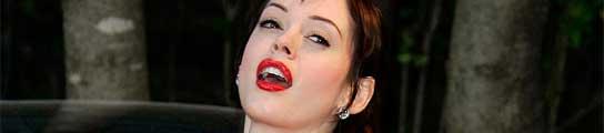 La actriz Rose McGowan.