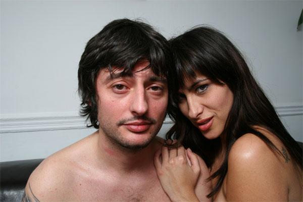 Antonio Chocho y Claudia Rodríguez