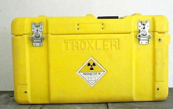 Sustraen del interior de un coche una maleta que contenía material radioactivo