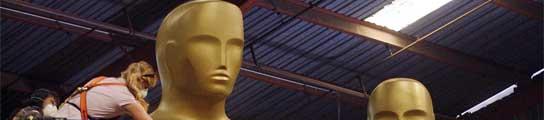 Preparativos para la entrega de los Oscar.