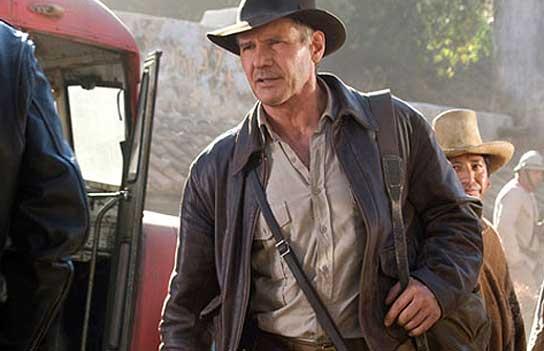 Harrison Ford, en 'Indiana Jones y el Reino de la Calavera de Cristal'.