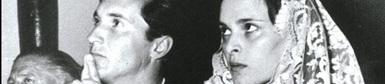 Dominguín y Lucía Bosé