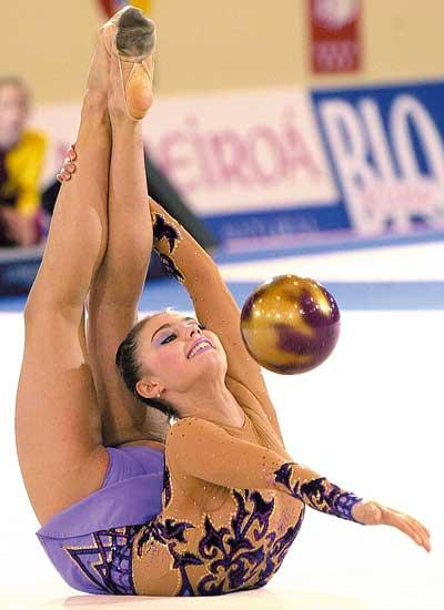 Alina Kabayeva, una de las mejores gimnastas del mundo