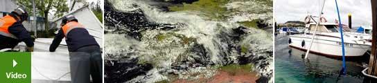 Vientos fuertes en toda España