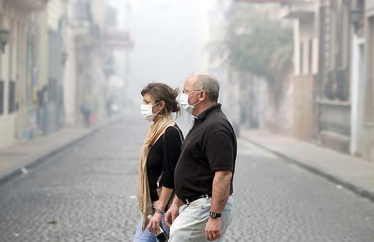 El humo de Buenos Aires