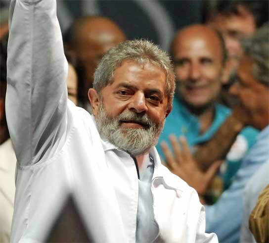El presidente de Brasil, Lula da Silva.