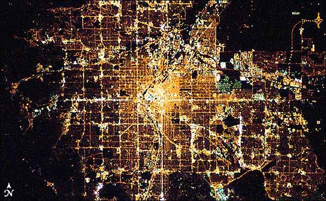 Ciudades de noche, Denver