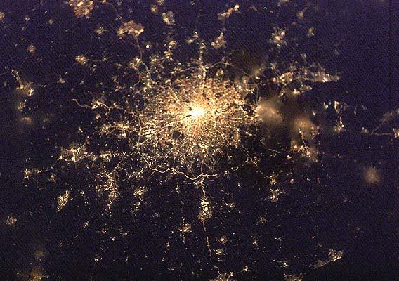 Ciudades de noche, Londres