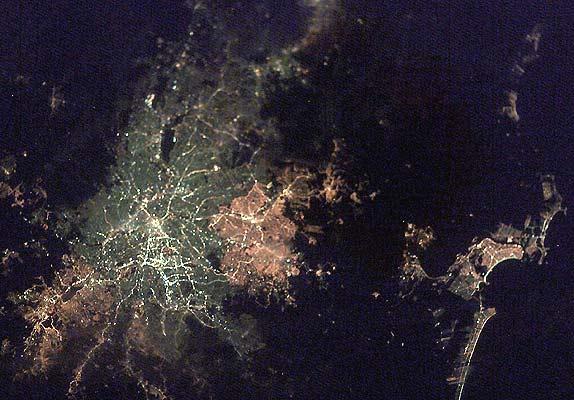 Ciudades de noche,Sao Paulo