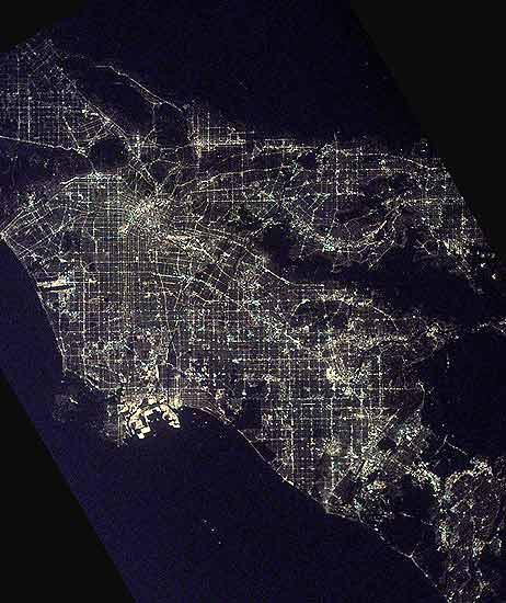 Ciudades de noche, Los Ángeles