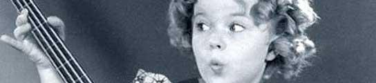 La actriz Shirley Temple, en una de sus películas.