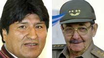 Raúl Castro y Evo Morales 214