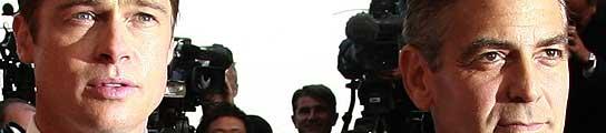 Brad Pitt y George Clooney, en el pasado Festival de Cannes.