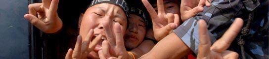 Manifestante pro-Tíbet