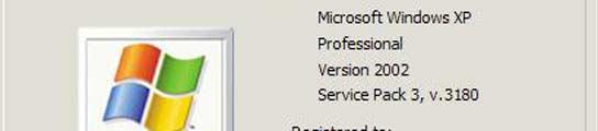 Service Pack 3 para Windows XP
