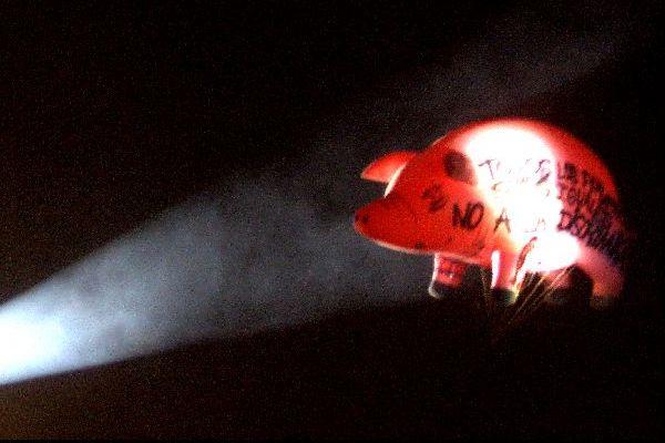El puerco inflable de Pink Floyd 805756
