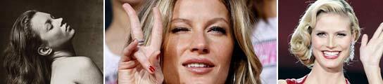 Gisele Bundchen es la modelo mejor pagada del mundo
