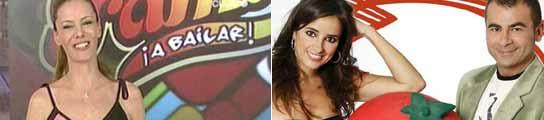 Paula Vázquez y los presentadores de 'Aquí hay Tomate'
