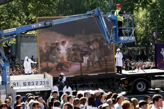 'Goya' pasea por Madrid