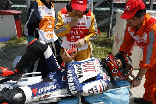 Accidente Jorge Lorenzo