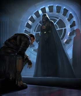 Vader y su discípulo.