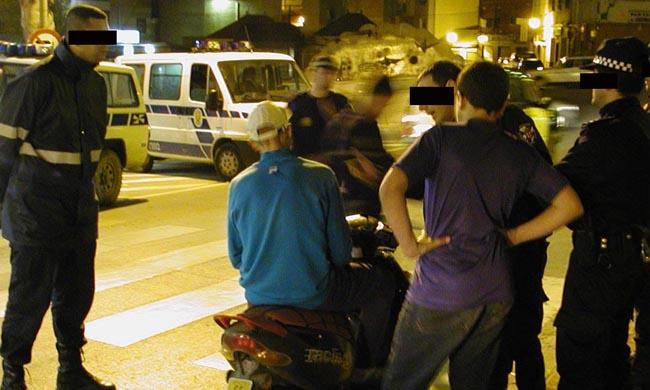 La intervención fue de la Policía Local