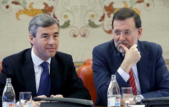 Ángel Acebes y Mariano Rajoy