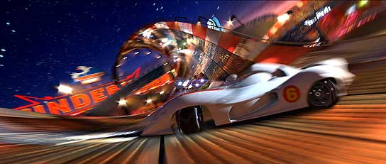 'Speed Racer' llega a los cines.