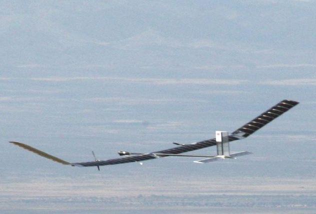 Zephyr, un prototipo del nuevo avión.