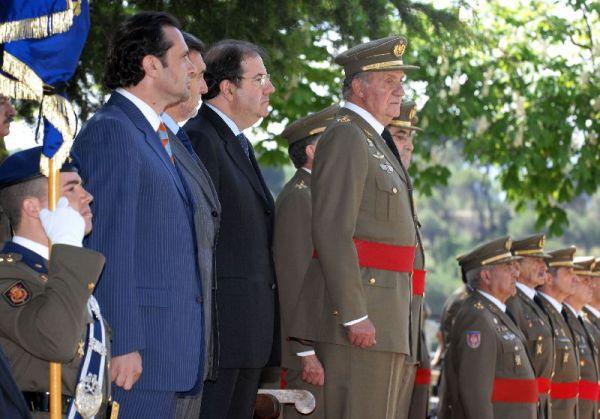Rey en Alcázar Segovia