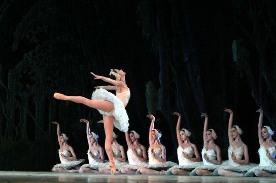 El Ballet Nacional de Cuba.