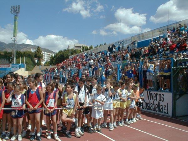 CAI, certamen atletismo intercentros, escolares, marbella