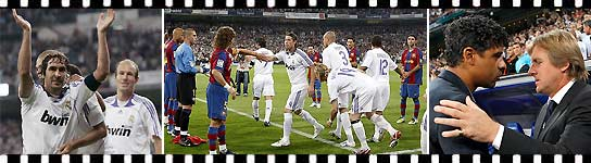 El Real Madrid goleó 4-1 al Barcelona en el clásico del pasillo. (AGENCIAS).