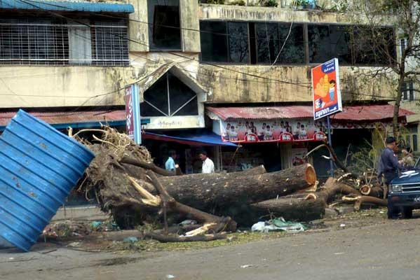 La Junta Militar birmana oculta a la población la auténtica magnitud del desastre