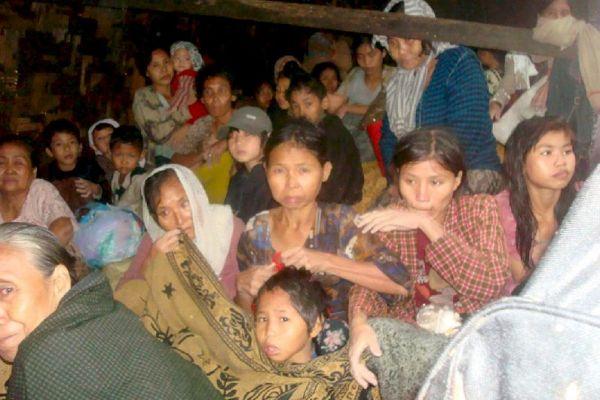 Birmania, arrasada