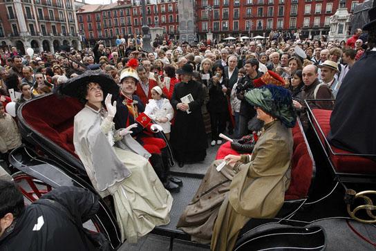 Alfonso XIII en Valladolid