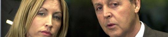 McCartney y Heather Mills