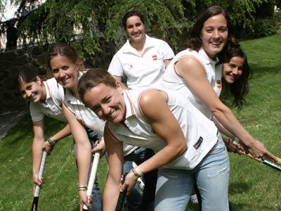 Las chicas del hockey
