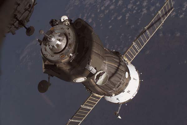 Atracando en la ISS
