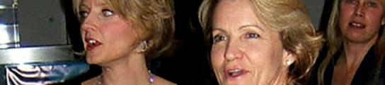 Jodie Foster y Cydney Bernard