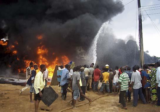 Explosión en Nigeria