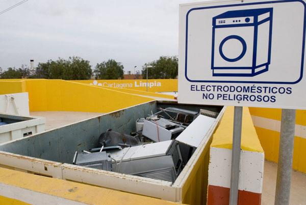 Ecoparque residuos cartagena
