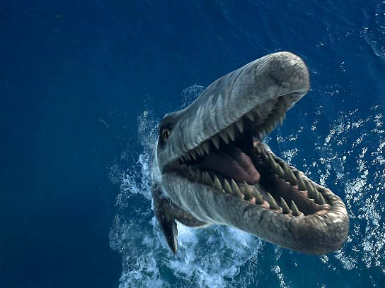 Monstruos marinos: una aventura prehistórica