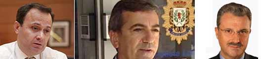 Alcalde y oposición de Coslada