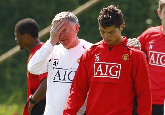 Ferguson y Ronaldo