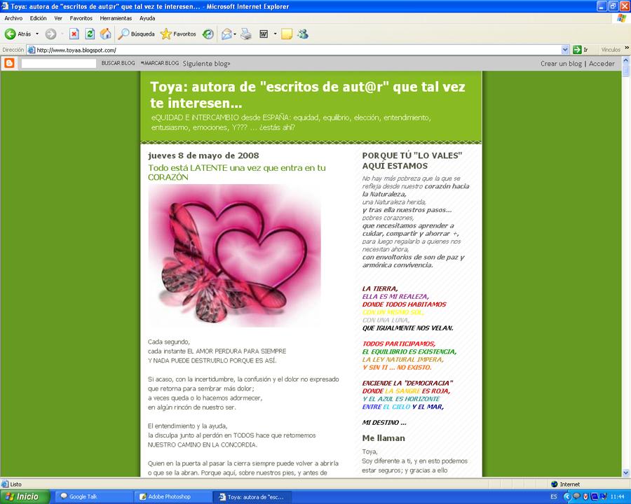 Blog de Toya