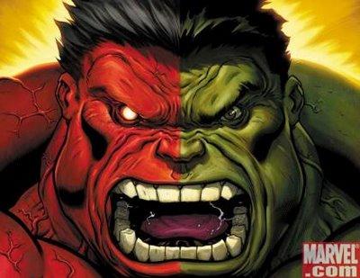 Hulk también es rojo